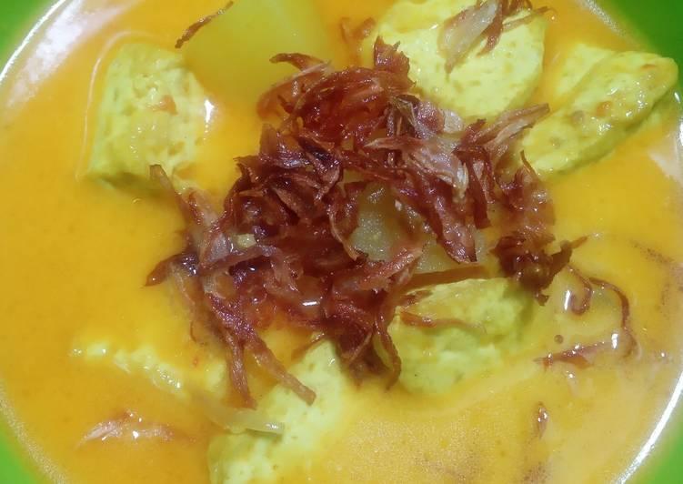 Resep Sayur Santan Tahu Kentang Yang Mudah Pasti Enak