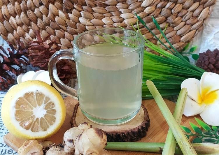 Resep Wedang Jahe Sereh Lemon yang Lezat Sekali