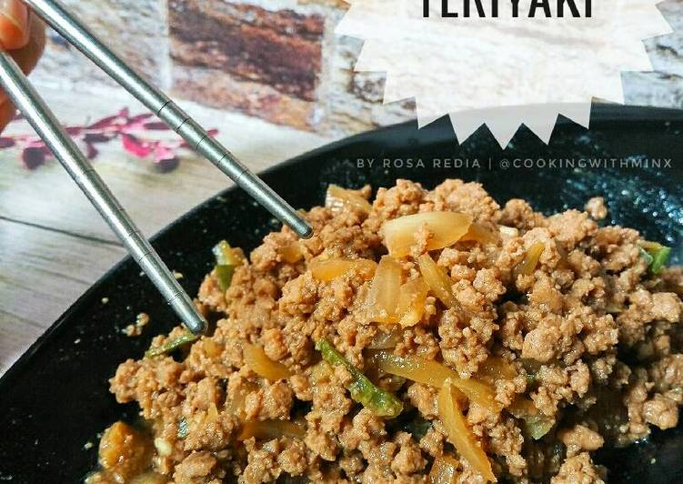 Beef Teriyaki Saus Homemade