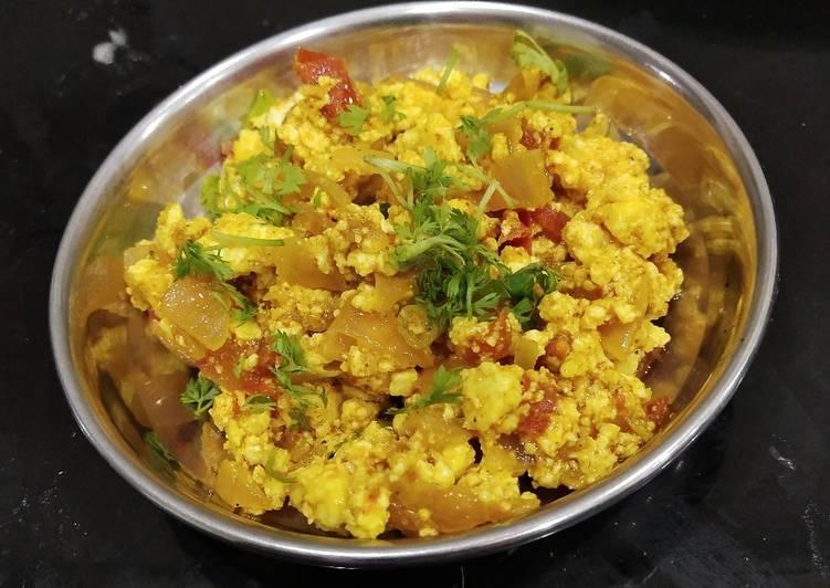 Easiest Way to Prepare Tasty Paneer Bhurji