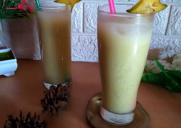 Resep Star Fruit Juice With Honey Oleh Riana Rasyahlee Cookpad