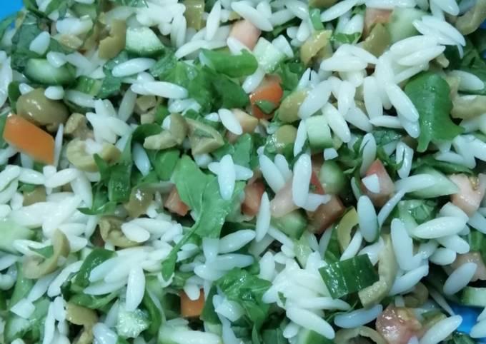 Rice Macaroni Salad