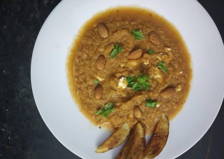 Gazpacho Soup with crispy Potato