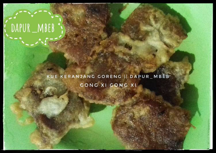 Kue keranjang goreng tepung || dapur_mbeb - cookandrecipe.com