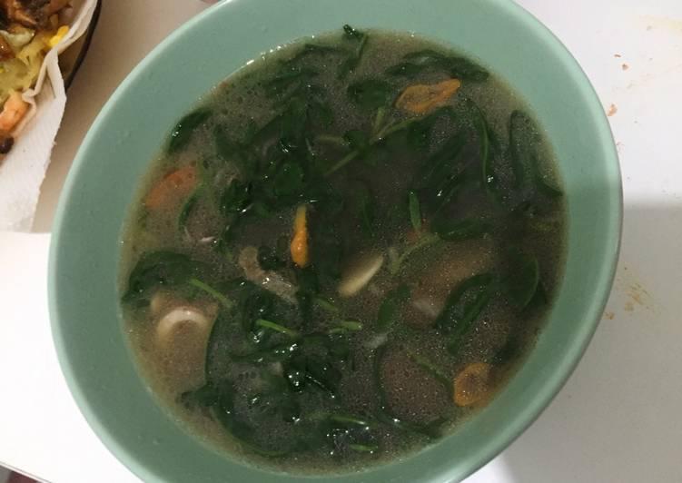 Tumis Kangkung Seafood Saos Tiram
