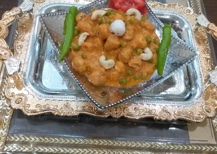 Soya Makhana curry