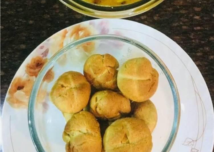 Recipe of Quick Baked Battis