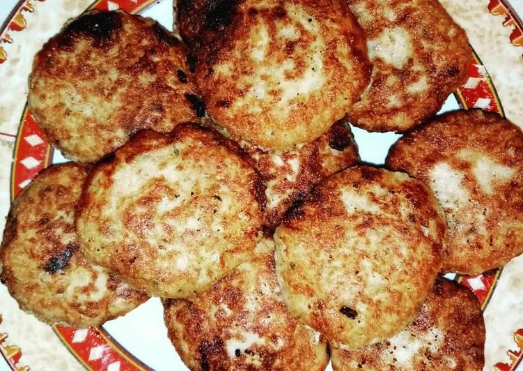 recette Makouda (croquette) délicieux