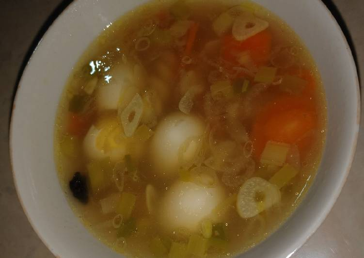 Sup Makaroni Puyuh