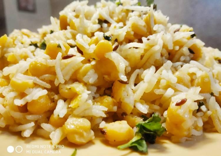 10 Minute How to Prepare Favorite Chana Dal Pulao