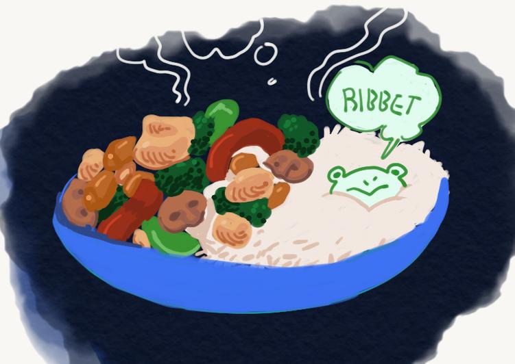 Recipe: Yummy Honey Garlic Chicken Stirfry