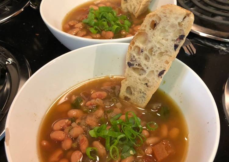 Double Drunk Borracho Beans (Instant Pot)