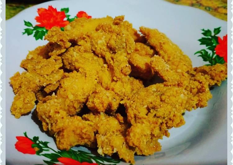 Ayam crispy oat