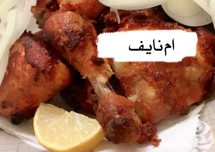 دجاج مقلي 👌🍗