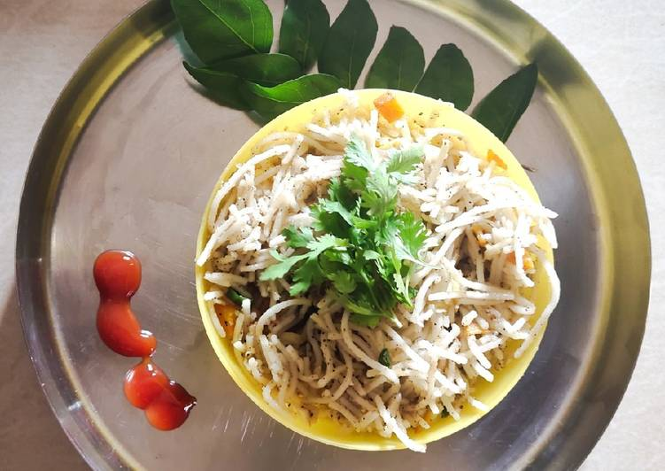 Easiest Way to Make Ultimate Veg hakka noodles