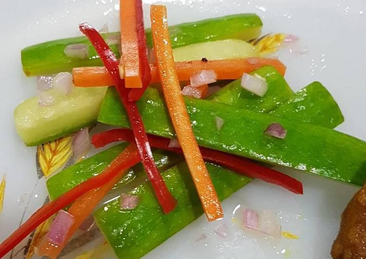 Cucumber Pickles (Acar Timun)