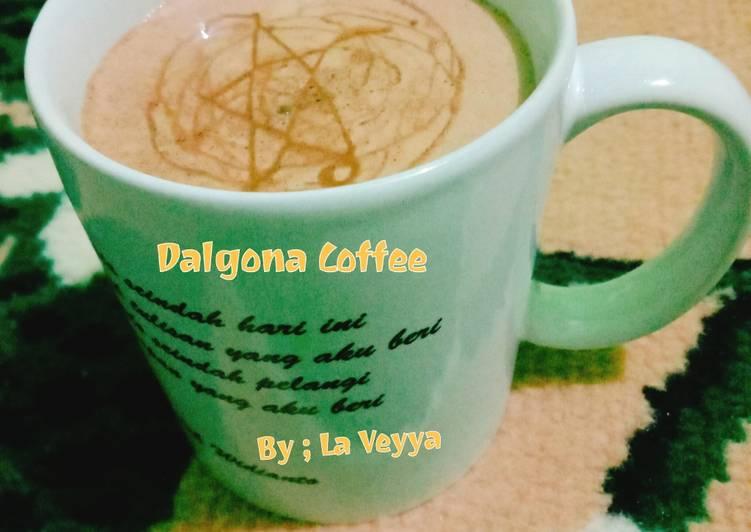 Dalgona coffee Torabika Mocca