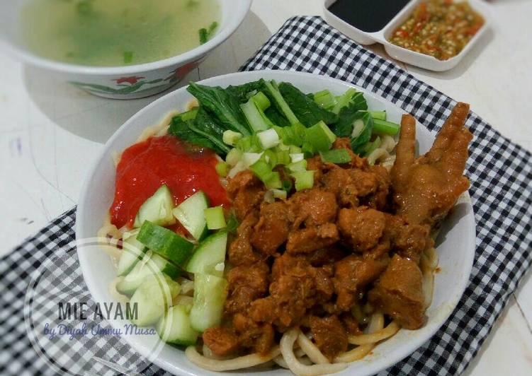 Mie Ayam Homemade Asli Enak
