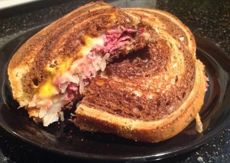 Steps to Prepare Speedy Dry Reuben Sandwiches