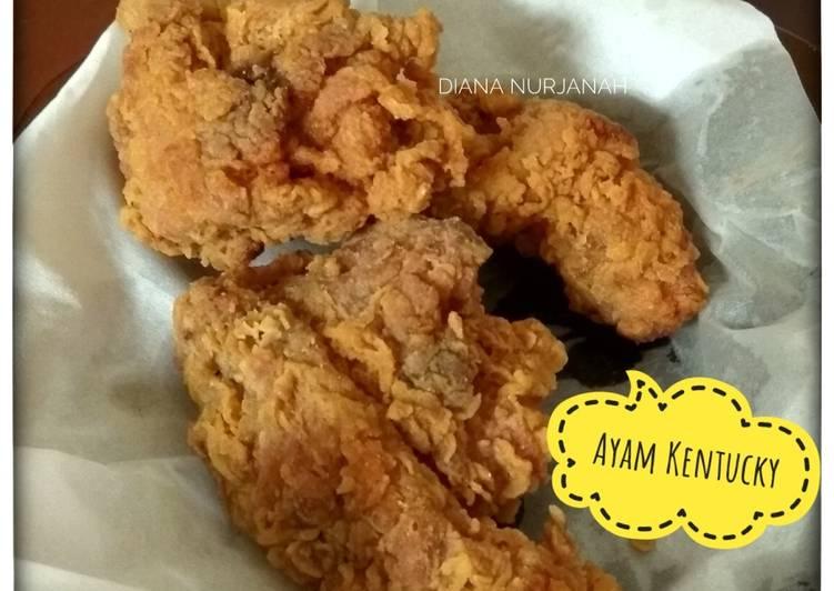Resep Memasak Ayam Kentucky Anti Gagal