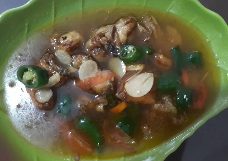 Ayam Lombok hijau / cabe hijau
