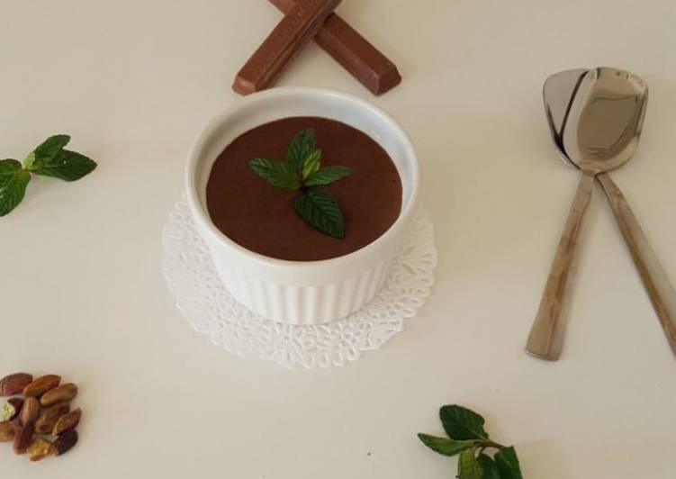 Recipe: Tasty Mousse au chocolat