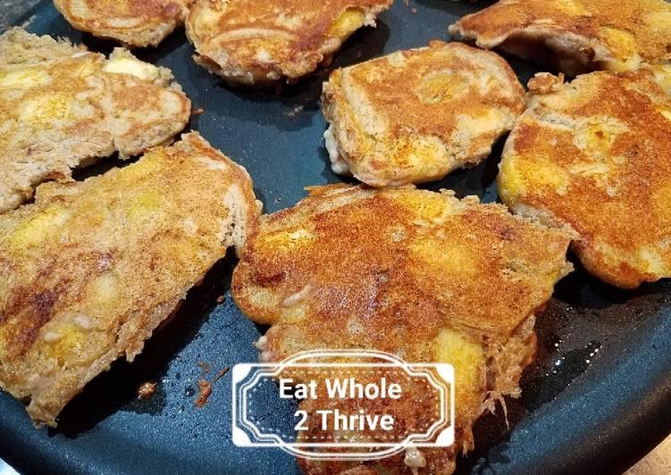 Recipe of Perfect Sourdough Apple Pancakes 老面苹果小松饼