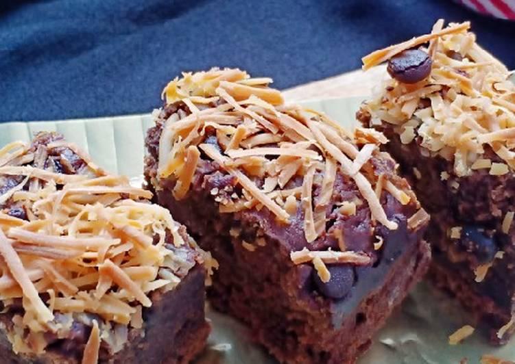 Cake coklat eggless