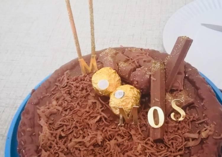 Steps to Make Quick Homemade chocolate cake