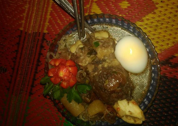 Sop kaki dan kikil sapi - cookandrecipe.com