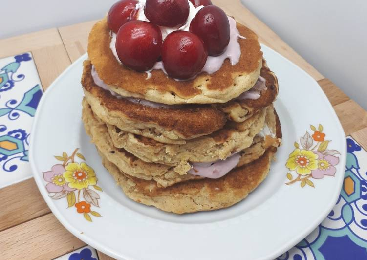 Pancake integrali con avena