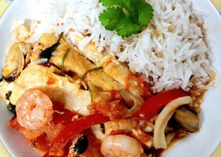 Recipe of Homemade Moqueca de peixe paulistana. (Sao Paulo Fish stew)