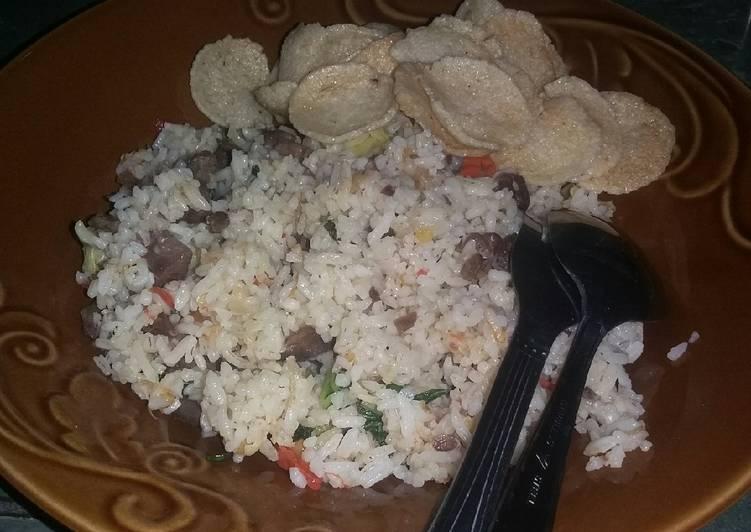 Nasi Goreng Daging Sederhana #72