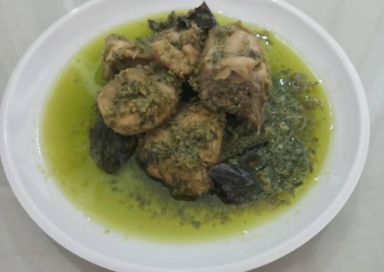 Resep Ayam Lado Ijo (Ayam Cabe Hijau) Yang Mudah Endes