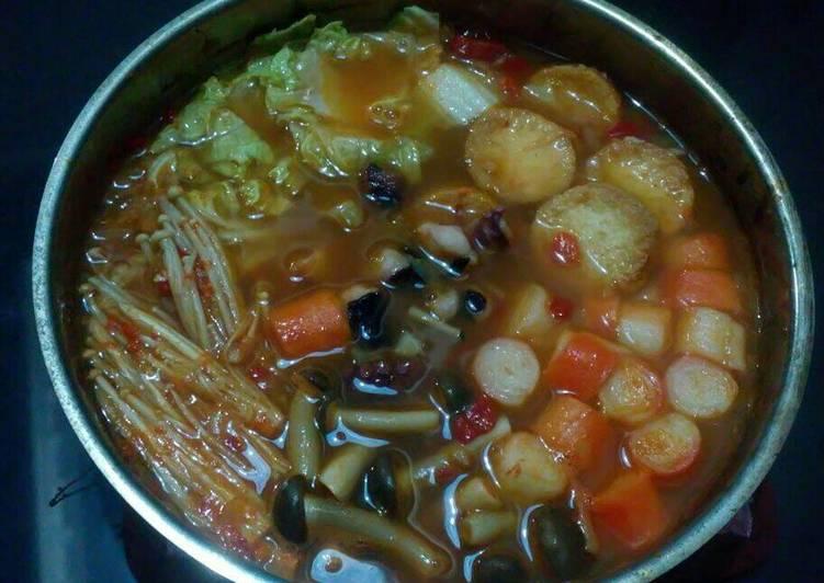 Suki seafood kuah tomyam