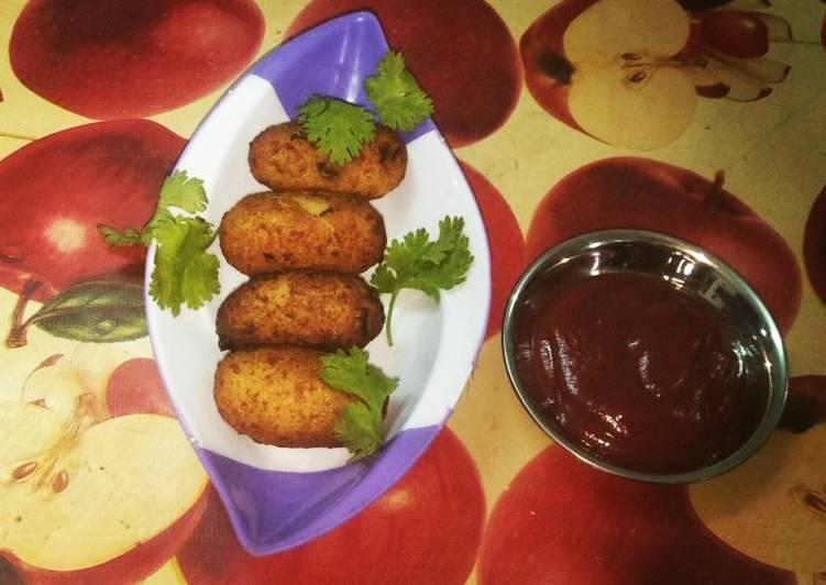Recipe of Perfect Aloo Matar Paneer Friterrs