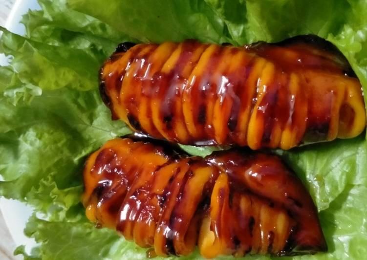 Cumi Bakar Madu, yummy - cookandrecipe.com