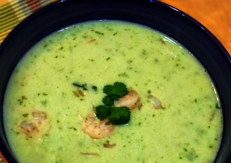 Prawns in Coconut milk