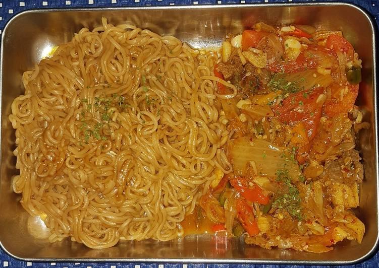 Tumis Kimchi Sapi