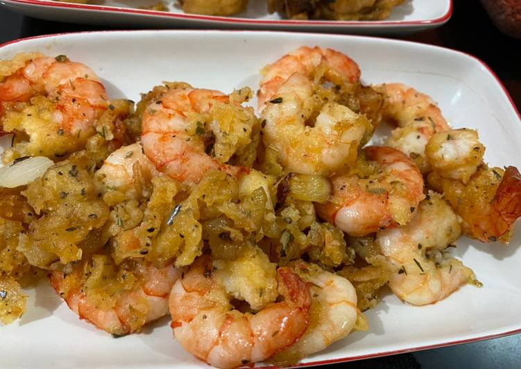 Garlic Butter Fried Prawn