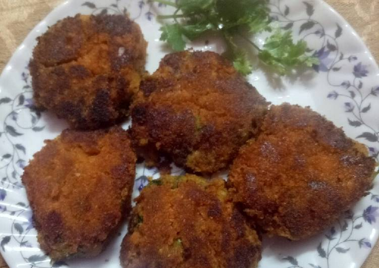 Recipe: Perfect Pumpkin cutlets