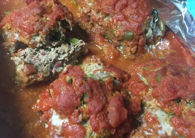Italian style meatloaf  no catchup needed !!!