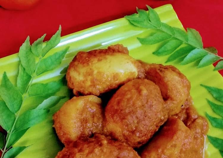 15 Minute Easiest Way to Prepare Ultimate Spicy duck egg masala / hanser dim kosha