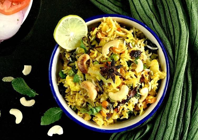 Easiest Way to Make Any-night-of-the-week Vegetable Dum Biryani
