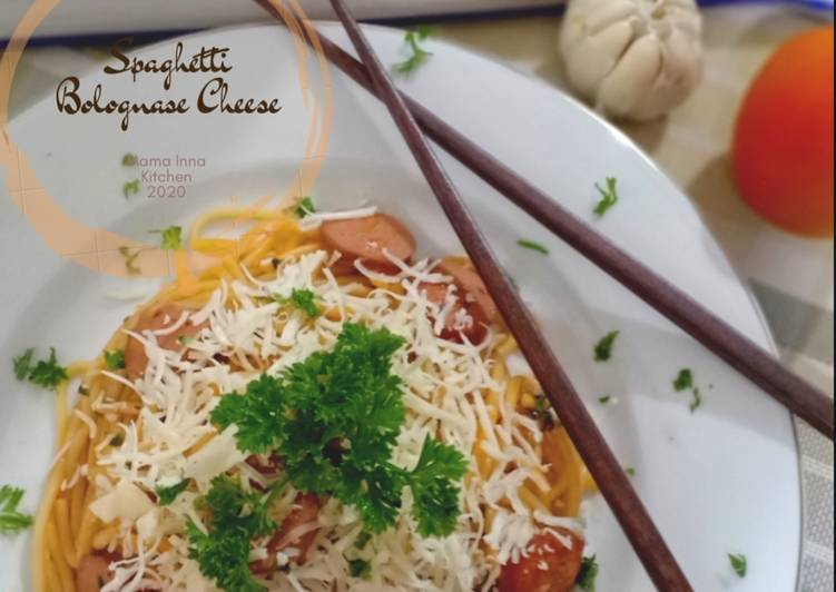 Spaghetti Bolognase Cheese