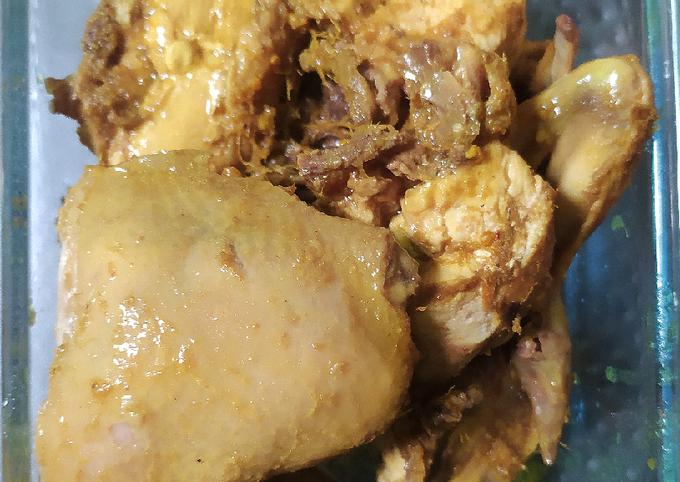 Ayam ungkep simpel