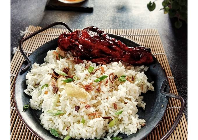Nasi Ayam Ala2 KFC