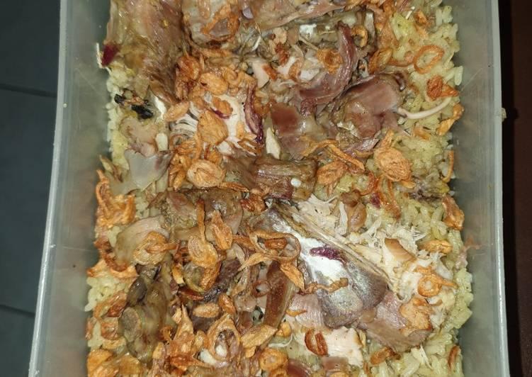 Nasi Kebuli Ayam Kampung (mejikom)