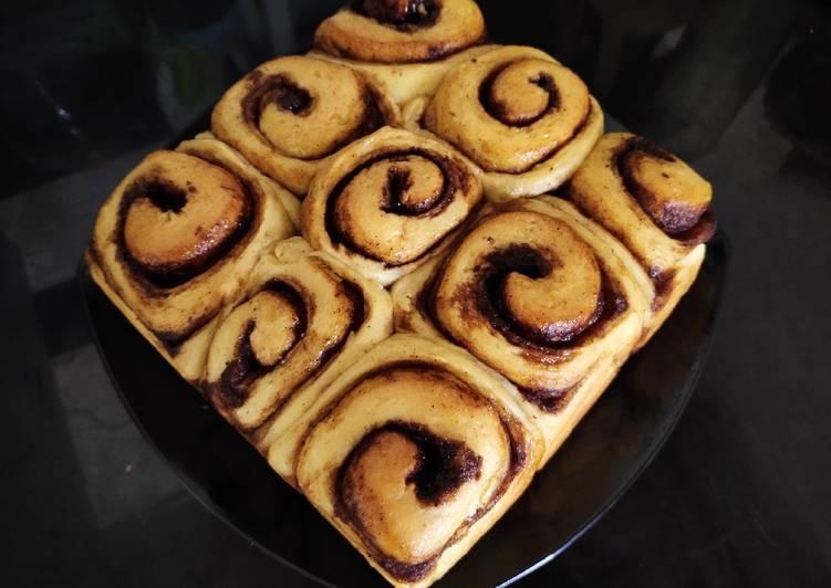 Cinnamon rolls tangzhong methode
