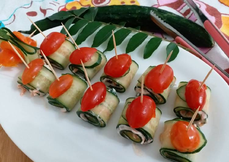 Recipe: Delicious Cucumber roll